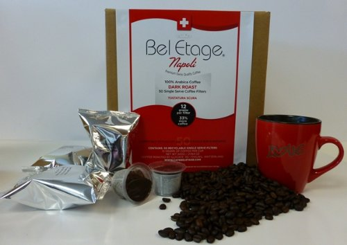 illy cafe' AG 50 Count Box of Bel Etage Napoli