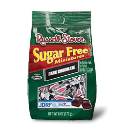 Russell Stover Sugar-free (With Splenda) Solid 