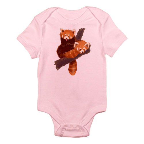 CafePress - Red Pandas Infant Bodysuit - Cute Infant Bodysuit Baby Romper