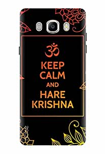 Noise Designer Printed Case / Cover for Samsung Galaxy On8 / Quotes/Messages / Hare Krishna Design