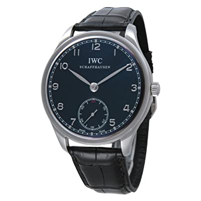 IWC Portuguese Manual Wind Stainless Steel Mens Watch IW545407