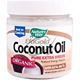 Efa Gold Coconut Oil, Organic, 16 oz, From Natures Way