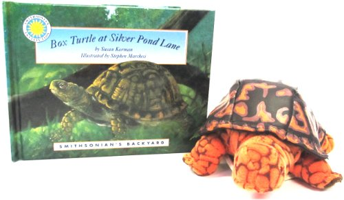 Box Turtle at Silver Pond Lane (Smithsonian's Backyard Book & Toy Set) (Mini book with stuffed toy animal)