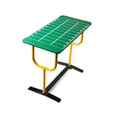 Buy Huffy Sports Football Side Tv Table, Goal Post Legs, Marked Field Positions by Huffy