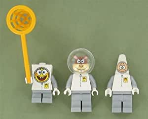 : Spacesuit Set of Three Minifigures By Lego Buy New: Toys & Games