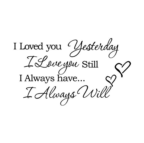 I Love You Quotes: I Loved You Yesterday I Love You Still I Always Have I