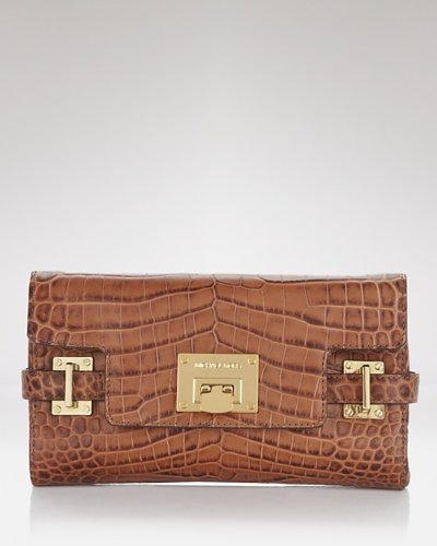 Michael Michael Kors Clutch - Astrid Dark Walnut