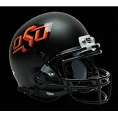 Buy NCAA Oklahoma State Cowboys Collectible Alt 3 Mini Helmet, Matte Black by Schutt