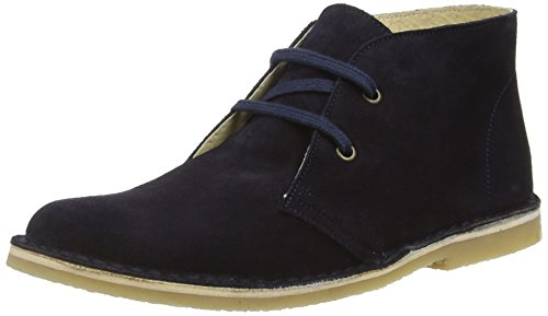 Start-riteColorado II - Stivali Desert Boots Unisex per bambini, Azul - Blue (Dark Navy Suede), 34 EU