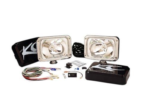 Kc Hilites 242 6X9 Chrome 100W Driving Light System