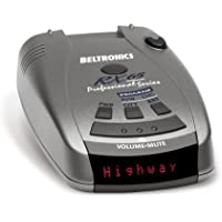 Beltronics RX65 Professional Series Radar Detector with Red Display