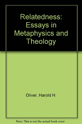 Relatedness: Essays in Metaphysics and Theology Picture