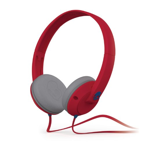 Skullcandy Uprock Headphones Athletic Red (2012 Color), One Size