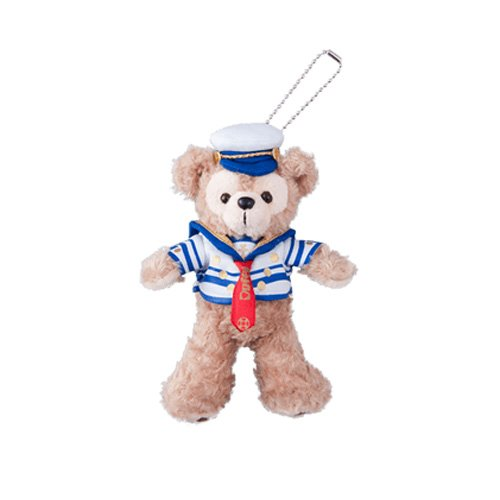 Journeys with Duffy ☆ Duffy plush badge 2015 Journeys with Duffy (Tokyo Disney sea limited)