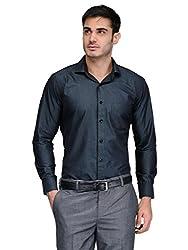 Harvest Green 100 % Cotton Party Wear Shirt for Men