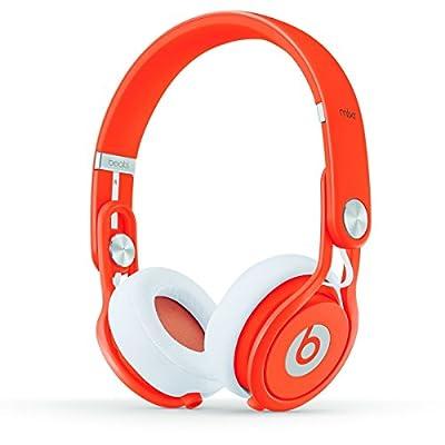 Beats by Dr. Dre Mixr 05499   On Ear Headphone Orange BT ON MXR NEON ORG