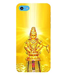 HiFi Designer Phone Back Case Cover Apple iPhone 6 Plus :: Apple iPhone 6+ ( Sri Lord Ayyappa Swami Hindu God )
