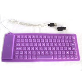 High Quality Flexible Mini Sized Keyboard, USB, PS/2, Electronics & Computers