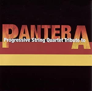 Progressive String Quartet Tribute to Pantera