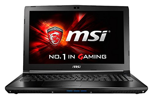 MSI GL62 6QC 484UK 15.6-Inch FHD Gaming Notebook (Black) - (Intel Core i5 6300HQ, 8 GB RAM, 128 GB SSD, 1 TB HDD, GeForce 940MX Graphics Card, Windows 10)