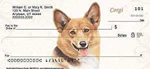 Corgi Personal Checks: 2 Full Boxes - 240 Checks