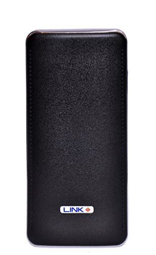 Link-11000mAh-Power-Bank-Leather-Texture-Cabinet-Design-Black