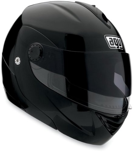 AGV Miglia 2 Solid Helmet , Size: Lg, Primary Color: Black, Helmet Type: Modular Helmets, Helmet Category: Street, Distinct Name: Flat Black, Gender: Mens/Unisex 089154B0003009