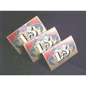 Three Packs Job 1.5 Gold Cigarette Rolling Papers - 24 Sheets Per Pack - NEW