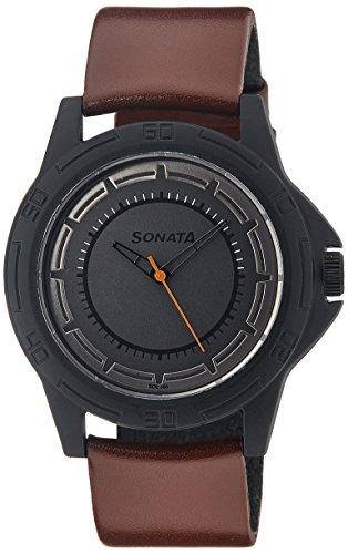 Sonata-Analog-Multi-Colored-Dial-Mens-Watch-77018PL01J
