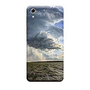 TransMute Premium Printed Back Case Cover With Full protection For HTC 728 (Designer Case)