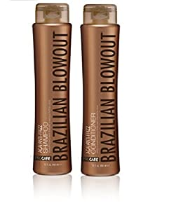 Brazilian Blowout Anti-Frizz Shampoo & Conditioner 12-ounce bottles