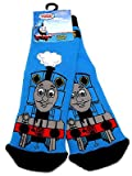 Boys Thomas The Tank Engine Blue Slipper Socks UK Size 3-5.5 / 1-2 Years