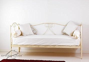 Canapé lit Gloria Azzurro - Shabby Chic