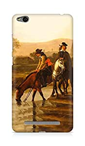 Amez designer printed 3d premium high quality back case cover for Xiaomi Redmi 3S (Oil painting nature men old times art)