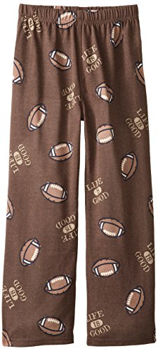 Life Is Good Boy'S Sleep Pant (Oak Brown), Large front-289606