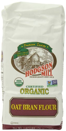 Hodgson Mill Organic Oat Bran Flour, 26-Ounce (Pack of 6