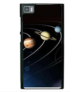 printtech Solar Planets Galaxy Back Case Cover for Xiaomi Redmi Mi3::Xiaomi Mi 3