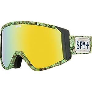 Spy Raider Snowboard Goggles With Bonus Lens Multi-Coloured Cali Kush - Bronzew/gold Mirror Size:One Size