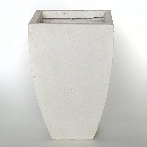 plantara-pflanzkubel-blumentrog-blumenkubel-datura-42x59cm-fiberglas-elfenbein-wetterfest