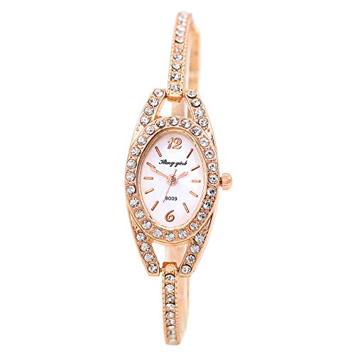 Women 39 s elegant minimalism rhinestone crystal stainless for Minimal art wrist watch