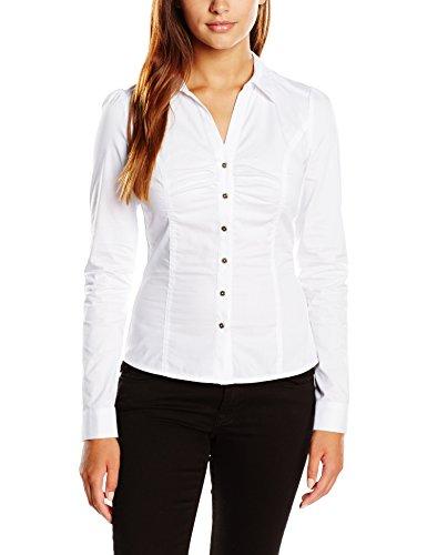 Morgan - 152-CARAM.N, Camicia da donna, bianco (bianco  (blanc)), 38