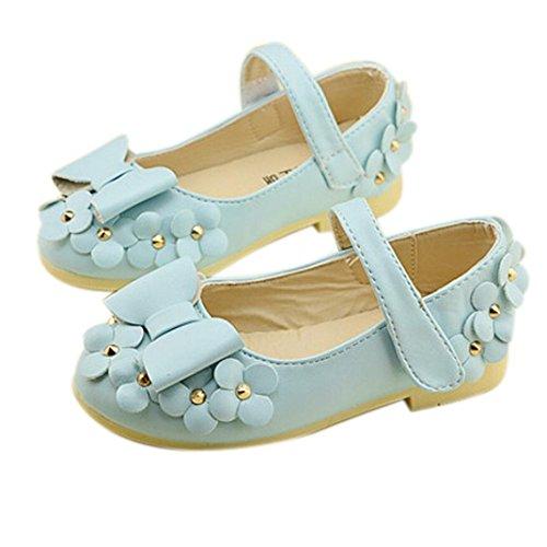Chaussures de bébé,Fulltime® Bébés filles Flats Toddler confortable jolie fleur chaussures de robe de bal sandales
