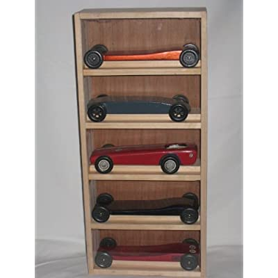 Amazon Com Cub Scout Pinewood Derby Car Display Case
