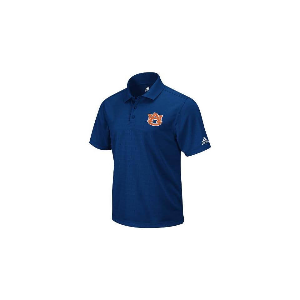 Auburn Tigers Adidas Climalite Navy Performance Polo Shirt