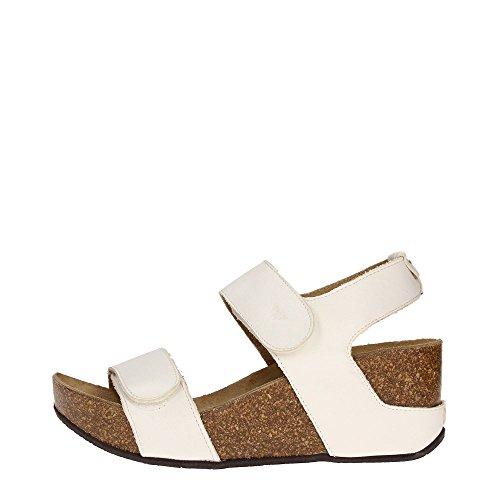 Docksteps DSE101513 Sandalo Donna Pelle Bianco Bianco 39