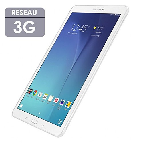 SAMSUNG Tablette tactile 9,6'' 1,5Go 8Go Android Galaxy Tab E Blanc 3G