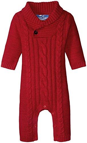 kapital-k-baby-boys-shawl-collar-coverall-cherry-coke-0-3-months