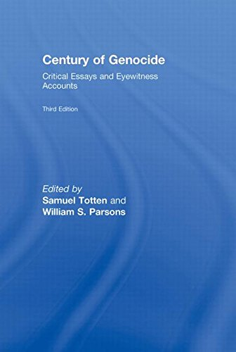 centuries of genocide essays and eyewitness accounts Centuries of genocide has 102 ratings and 7 reviews jake said: this is primarily a collection of eyewitness accounts compiled by various authors not or.