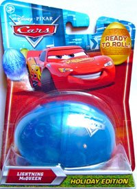 Disney Cars 2010 Holiday Egg Lightning Mcqueen [Toy]