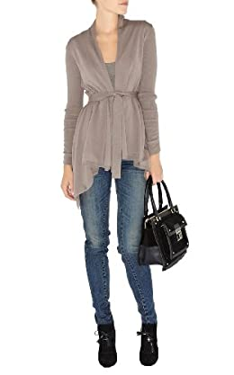 Long Belted Cardigan